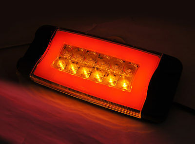 AU220 • Buy PAIR Glo Trac LED Combination Lamp, Tail Light 12-24V. Truck,Trailer,Ute,Caravan