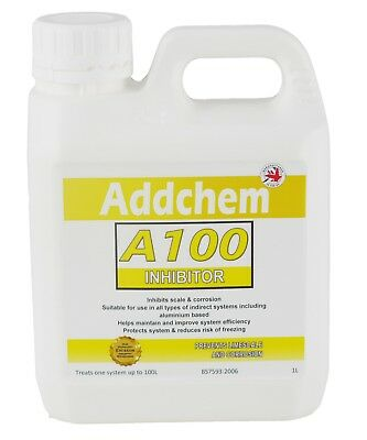 A100 Concentrated Inhibitor 1L - Boiler Central Heating System Protector • 7.99£