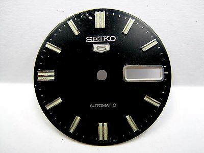 $ CDN60 • Buy Antique Gents Seiko Automatic Date/Day Watch Dial  Black Dial   5