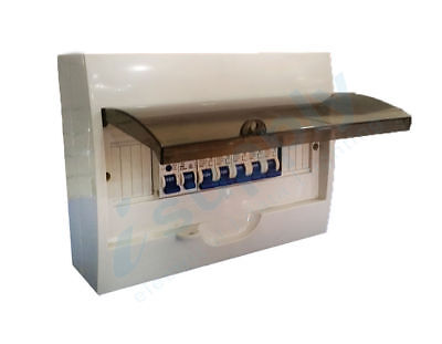 AU109.99 • Buy COMPLETE 12 Pole Distribution Board Switchboard Safety RCD Main MCB Way 12p MCB