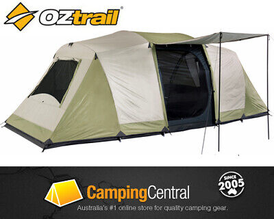 AU259.95 • Buy OZTRAIL SEASCAPE TENT (3-ROOM) SLEEPS 10 Dome Family 10 Man Person Tent
