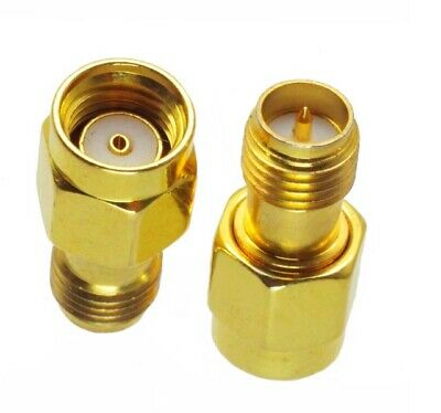 £2.20 • Buy RP SMA Male To RP SMA Female Adapter Connector                               919