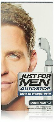 £43.51 • Buy Just For Men Autostop Hair Color, Light Brown A-25 (Pack Of 6)
