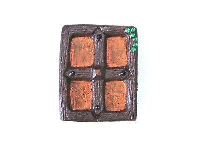 £4.99 • Buy Square Hobbit Or Fairy Window To Compliment Our Fairy Door Range - New