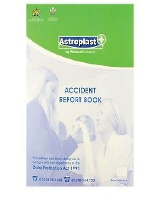 £5.51 • Buy 50 Page Accident /Injury Report Book A4 Complies With Data Protection Act 1998