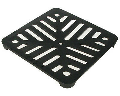 £9.15 • Buy Square 6  (150mm) Cast Iron Heavy Duty Gully Grid Drain Cover Grate Metal