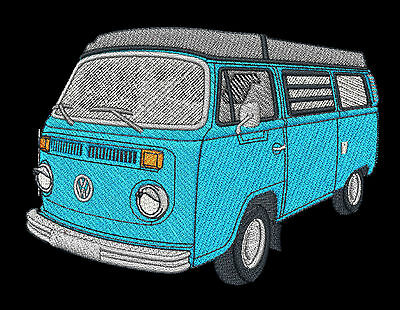 VW Combi Campervan Embroidered & Personalised Clothing • 17.45£
