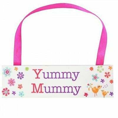 Wooden Pink Yummy Mummy Plaque, Birthday, Christmas, Mother's Day, Anytime Gift • 4.50£