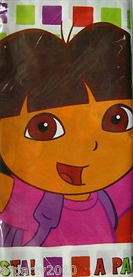 DORA THE EXPLORER Star Catcher PLASTIC TABLE COVER ~ Birthday Party Supplies • 3.83£