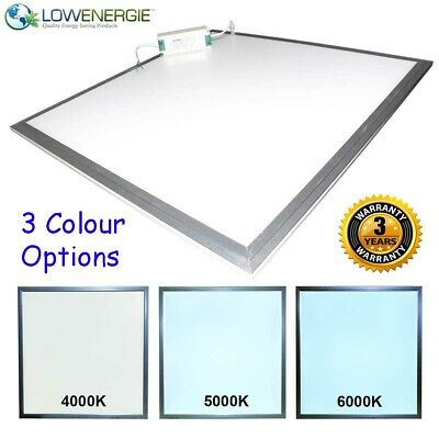 Lowenergie Large LED Panel Light Ceiling Recessed Suspended Modular Lighting • 21.99£