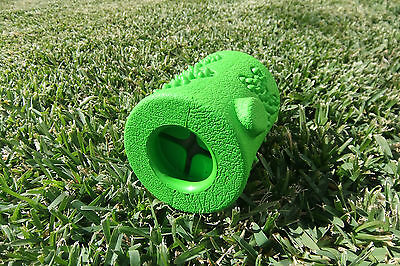 AU13.95 • Buy Hiho Dog Toys - Treat Dispensing Small Durable Rubber Green Branch Chew