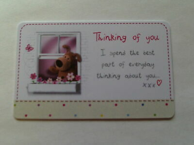 £2.99 • Buy Boofle Credit Card - Thinking Of You Birthday Christmas Valentine Or Anytime