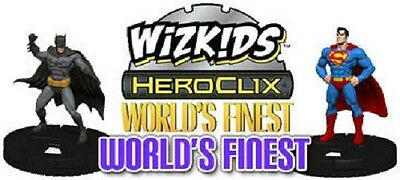 £8 • Buy DC Heroclix World's Finest - JUSTICE LEAGUE ID CARDS (Choose From List)