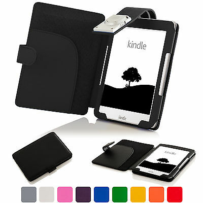 Forefront Cases® Case Cover Wallet Sleeve LED Reading Light Amazon Kindle 2016 • 9.99£