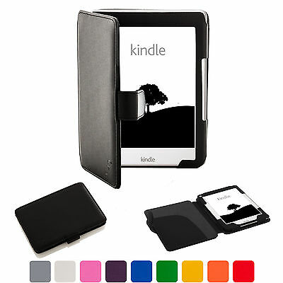 Forefront Cases® Leather Case Cover Sleeve Amazon Kindle 2016 8th Gen • 7.99£