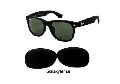 075733cacd Galaxy Replacement Lenses For Ray Ban RB2132 New Wayfarer Black 55mm  Sunglasses • 9.28