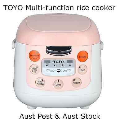 AU65.55 • Buy Japan Brand TOYO Multi-Function Rice Cooker MB-FS20D (4 Cups/2.0L)