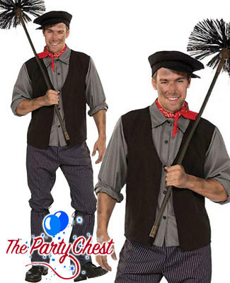 £25.95 • Buy ADULT VICTORIAN BERT CHIMNEY SWEEP MARY POPPINS Fancy Dress Costume AC360
