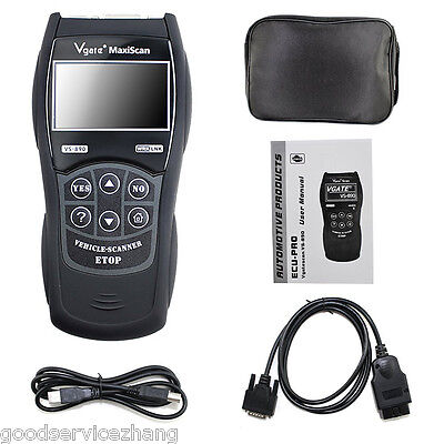 New VS890 Fault Diagnostic Tool Code Reader Engine Reset Scanner Multi-language • 42.20$