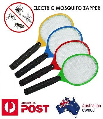AU16.45 • Buy 2x Bug Zapper Electric Tennis Racket Mosquito Fly Swatter Killer Insect Handheld