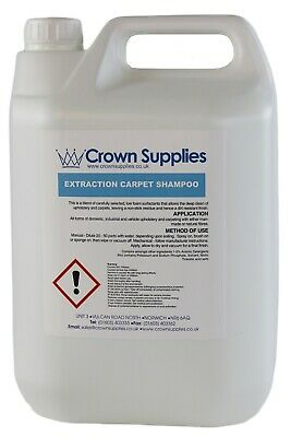 PROFESSIONAL CARPET SHAMPOO 5 LITRES - Suitable For All Machines • 15.99£