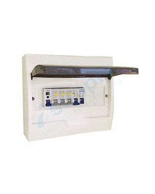 AU109.99 • Buy COMPLETE 12 Pole Distribution Board Switchboard Safety RCD Main MCB Way 12p RCBO
