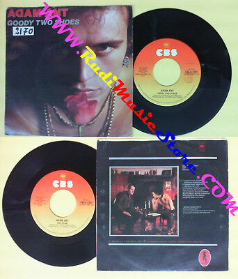 £4.30 • Buy LP 45 7'' ADAM ANT Goody Two Shoes Red Scab 1982 Italy CBS A 2367 No Cd Mc Dvd *
