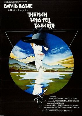 The Man Who Fell To Earth Vintage Movie Poster Film A4 A3 Art Print Cinema • 9£