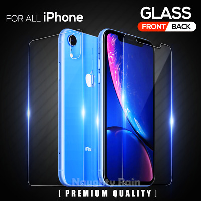 AU4.95 • Buy Tempered Glass Screen Protector For IPhone 12 Mini 11 Pro XS Max XR 8 7 6S Plus