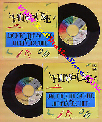 LP 45 7''HITHOUSE Jack To The Sound Of The Underground 1988 CGD No Cd Mc Dvd (*) • 3.45£