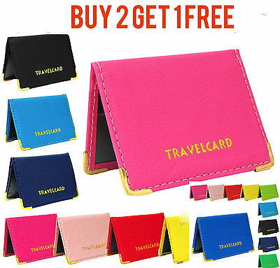 £1.85 • Buy Travel Oyster Card Bus Pass Holder Wallet Rail Card Cover Case