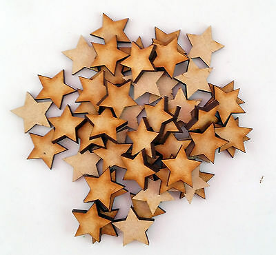 Wooden MDF Star Shape 3mm MDF, Craft Shape,blank,Embellishments, Christmas Xmas • 0.99£