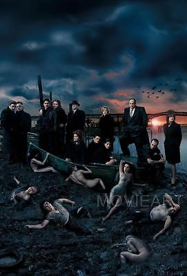 The Sopranos Cast Television Poster Main Film A4 A3 Art Print • 8.65£