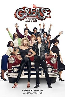 £4.29 • Buy Grease Live Television Poster Film A4 A3 Art Print