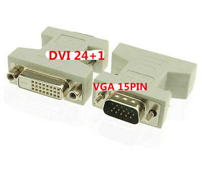AU8.10 • Buy DVI-D Female Analog (24+1) To VGA Male (15-pin) Connector Adapter Dual Link
