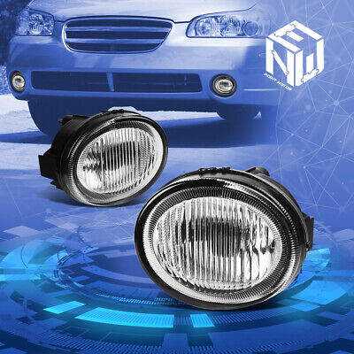 $34.33 • Buy For 02-03 Nissan Maxima Clear Lens Front Driving Fog Light Lamps Replacement