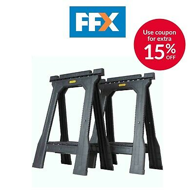 Stanley STST1-70355 Junior Saw Horse Twin Pack • 31.75£