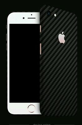 $ CDN21.37 • Buy Iphone 7 Skins By DBRAND Carbon Fiber Skin By Dbrand BLACK  Back Only
