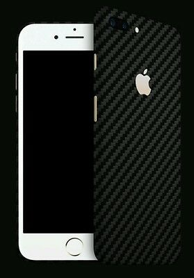 $ CDN22.70 • Buy Iphone 7 Plus  Skins By DBRAND Carbon Fiber Skin By Dbrand BLACK Back Only
