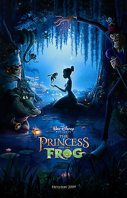 £4.29 • Buy The Princess And The Frog Disney Movie Poster Film A4 A3 Art Print Cinema