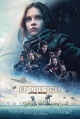 A Star Wars Story Rogue One MOVIE Film Cinema wall Home Posters Art #10 A3