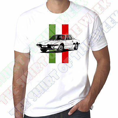 Personalised Number Plate Fiat X1/9 X19 Bertone Mens 100% Cotton T-shirt  • 11.99£