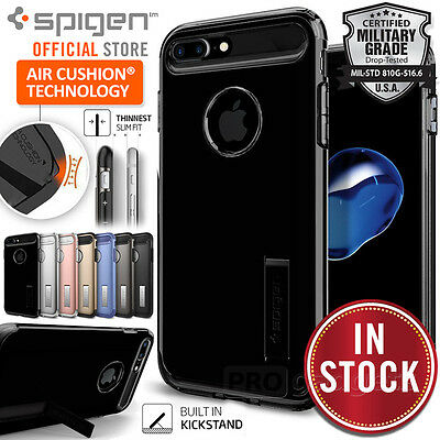 AU39.99 • Buy [FREE EXPRESS] IPhone 7 Plus Case, SPIGEN SLIM ARMOR Heavy Duty Cover For Apple