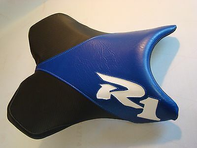 $54 • Buy YAMAHA 04/05/06 YZF R1 RIDER SEAT COVER Blck/blue/white