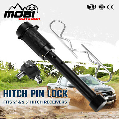 AU19.99 • Buy MOBI Hitch Pin Lock 5/8  Anti-Theft Tow Bar S-Type Steel Trailer Security 4WD