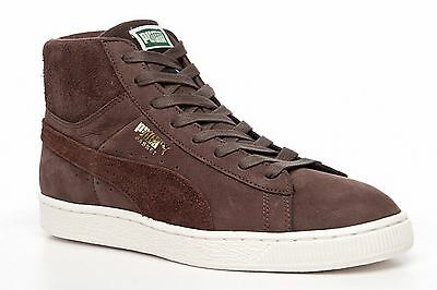 AU27.58 • Buy PUMA Mens Trainers Basket Classic Basketball Shoes Brown Suede Sneakers Trainers