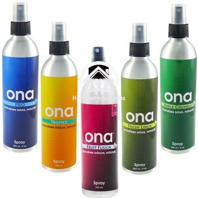 £9.85 • Buy ONA Spray 250ml Odour Smell Control Neutralising Air Odor Agent -  All Scents!