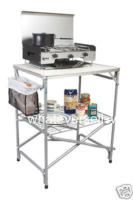 £59.99 • Buy FOLDING CAMPING FIELD KITCHEN  For Garden, Camp, Tent, Awning, Is Kampa Major
