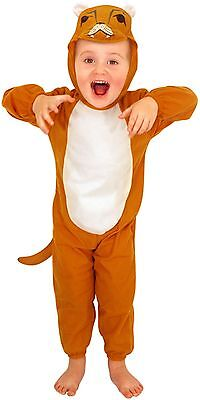 £9.44 • Buy Toddler Lion Childs Fancy Dress Up Party Costume Age 3 World Book Day NEW