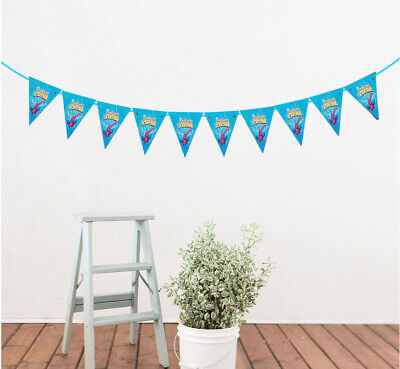 New Bunting Banner Party Triangle 10Flags 2.5 Metres Decoration Theme 24 Designs • 3.29£